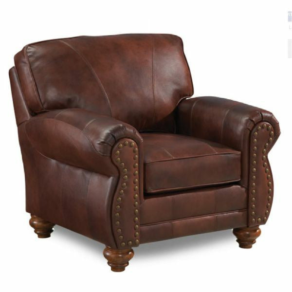 Noble Leather Club Chair