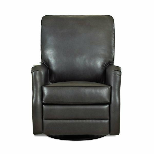 Randolph Leather Swivel Glider Recliner - Chapin Furniture