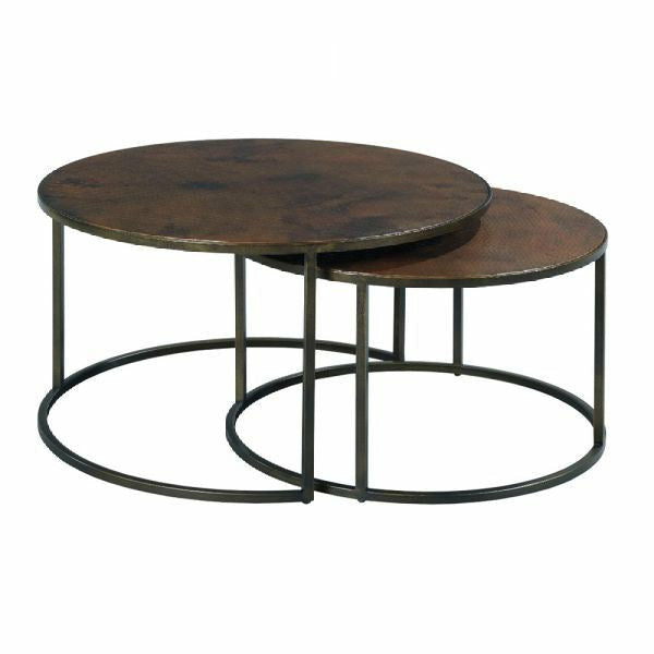 Sanford Round Nesting Cocktail Table - Chapin Furniture