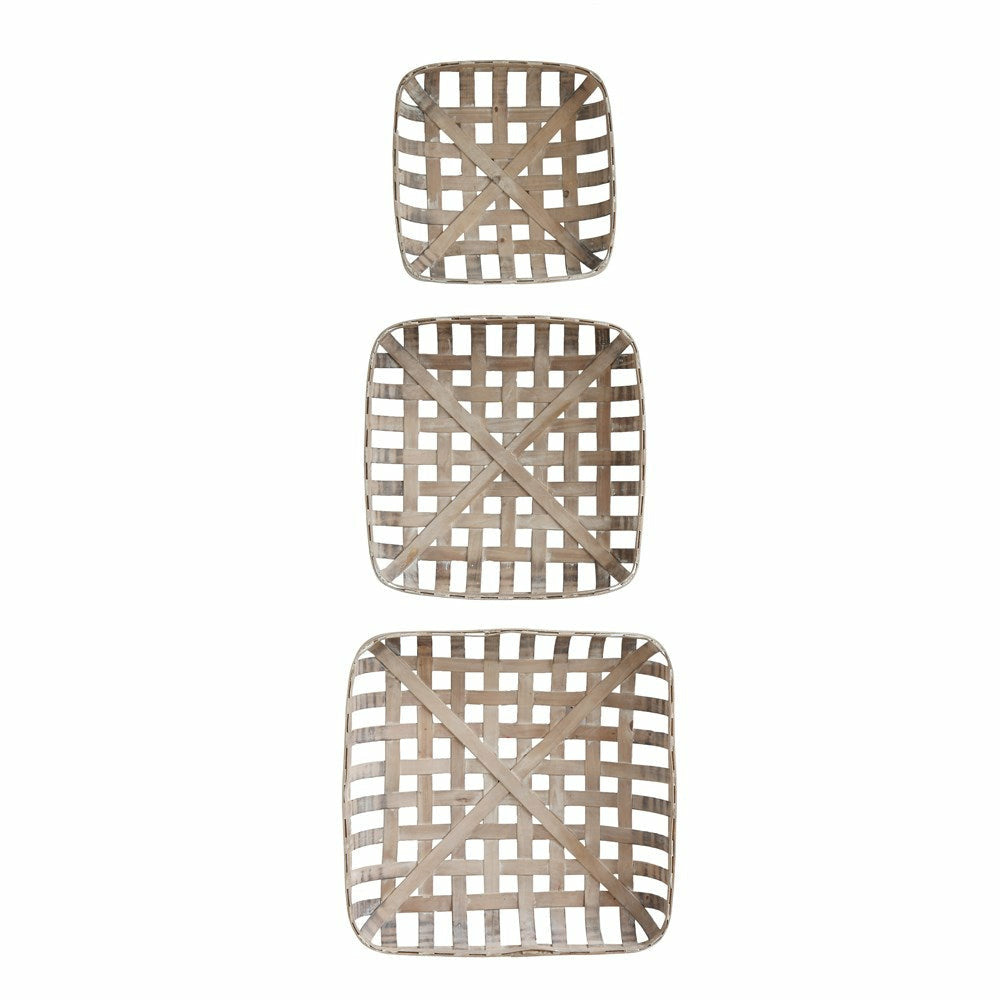 Wood Baskets, Set of 3 - Chapin Furniture