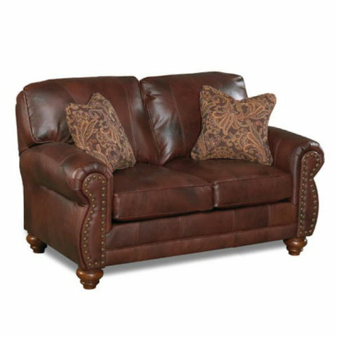 Noble Leather Loveseat