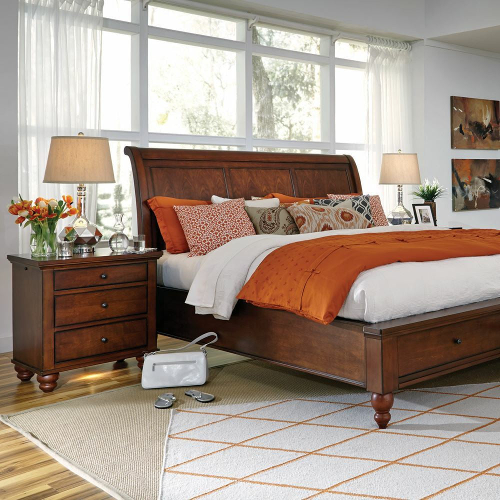Cambridge Sleigh Storage Bed