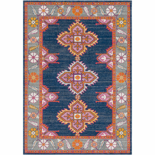 Harput Blue Rug - Chapin Furniture