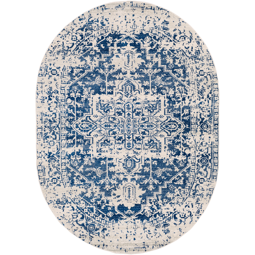 Harput Dark Blue Rug - Chapin Furniture