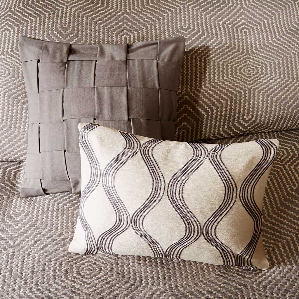 Shades of Grey Comforter Set - Chapin Furniture