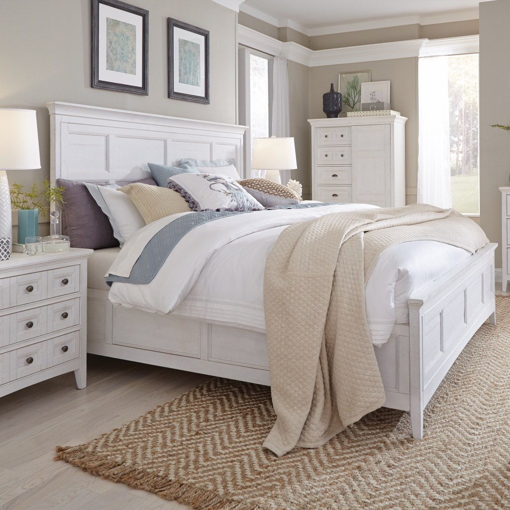 Heron Cove Panel Bed