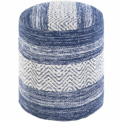 Levi Pouf- Blue - Chapin Furniture
