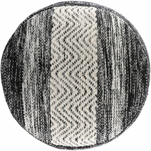 Levi Pouf- Black - Chapin Furniture