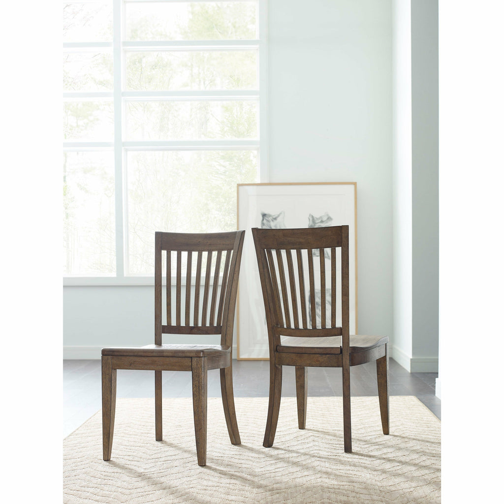 Nook Slat Back Chair- Multiple Finishes