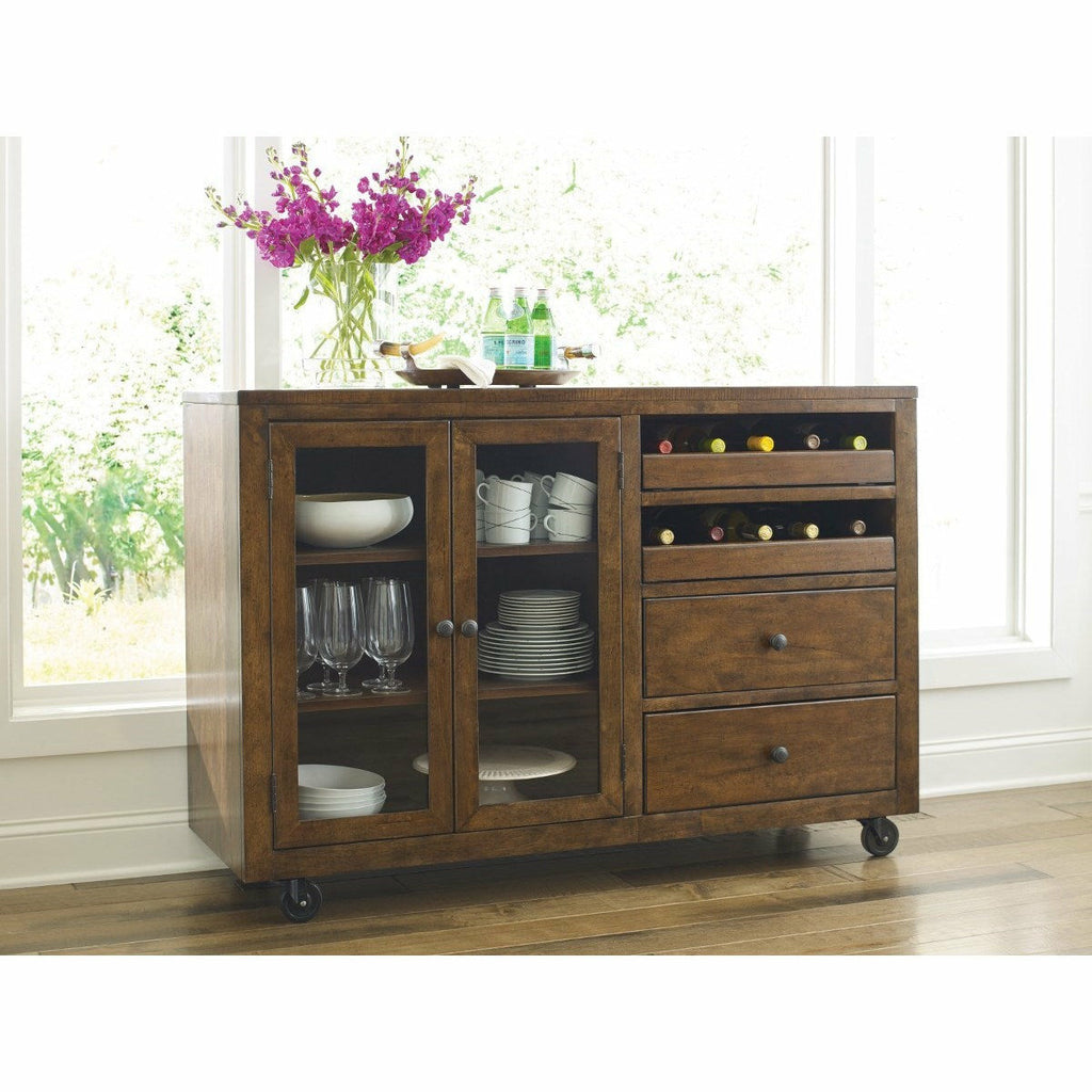 Nook Mobile Server- Multiple Finishes - Chapin Furniture