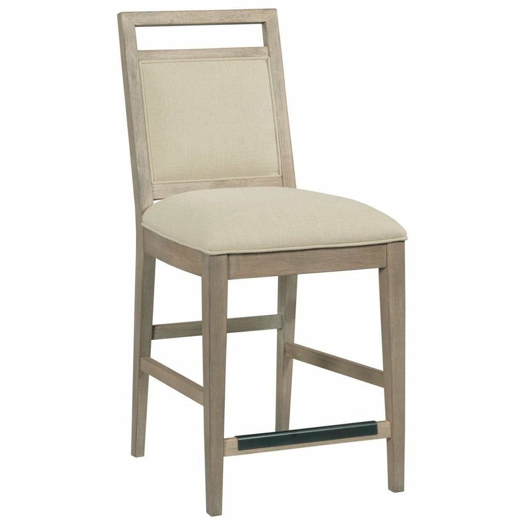 Nook Counter Height Upholstered Chair- Multiple Finishes