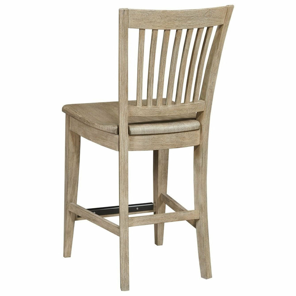Nook Counter Height Slat Back Chair- Multiple Finishes