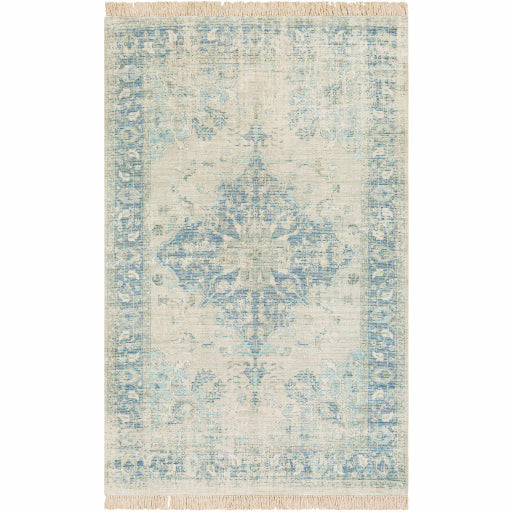 Zainab Sky Blue Rug - Chapin Furniture
