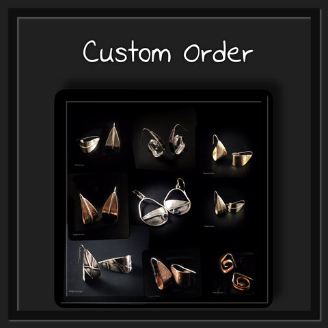 "CUSTOM ORDER FOR SHARON - 3/4"" CUFF BRACELET- DEPOSIT"
