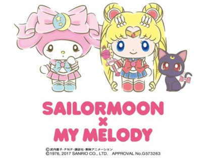 Sailor Moon and My Melody Collaboration