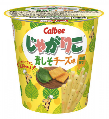 "Cablee Jagariko New ""Aoshiso and Cheese"" flavor"