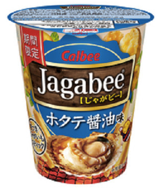 "Calbee Jagbare New ""Scallops with Soy Sauce"" flavor"
