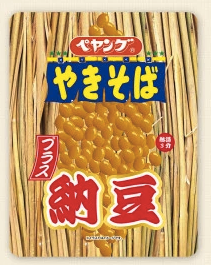 "Peyang New ""Yakisoba with Natto (fermented soybeans)"""