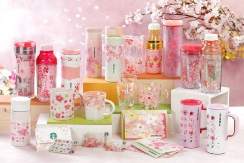 Starbucks Sakura Collectibles Sakura Harmony Series