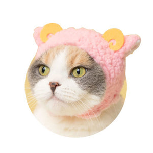 Sheep Hat for Cats (Kawaii kawaii Neko Hitsuji-chan)