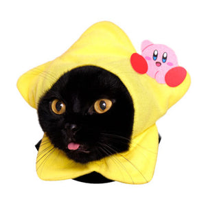 Kirby Hat for Cats (Kawaii kawaii Neko Kirby)