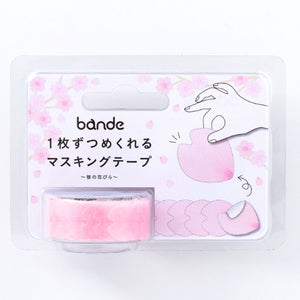 Bande Masking Roll Sticker Sakura Petals for Scrapbooking DIY