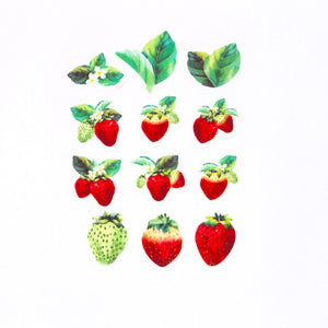Bande Masking Roll Sticker Strawberry Mini for Scrapbooking DIY