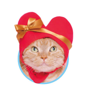 Heart Hat for Cats (Kawaii kawaii Neko Heart-chan)