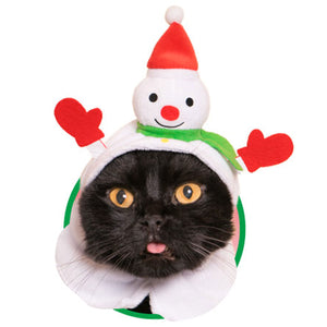 Christmas Hat for Cats (Kawaii kawaii Neko Christmas-chan)