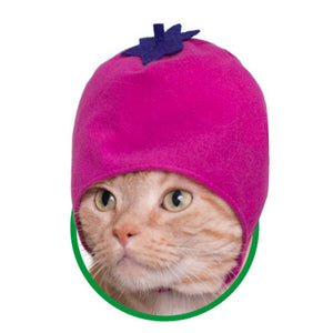 Vegetable Hat for Cats (Kawaii kawaii Neko Yasai-chan)