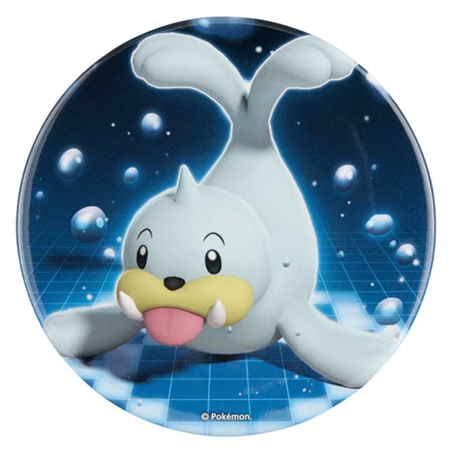 "Pokemon Center Big Can Badge ""Dewgong"""