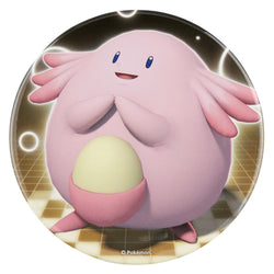 "Pokemon Center Big Can Badge ""Chansey"""
