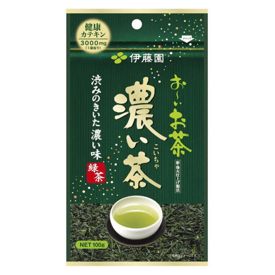 Itoen Oi Dark Green Tea - Tea Leaves 100g