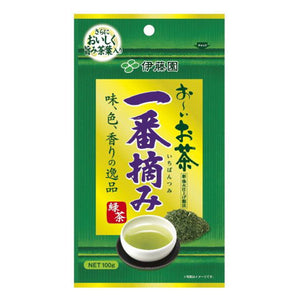 Itoen Oi Green Tea First Harvest Fresh Tea Leaves 100g
