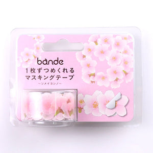 Bande Masking Roll Sticker Masking Tape - Yoshino Cherry Petals - for Scrapbooking DIY (BDA252)