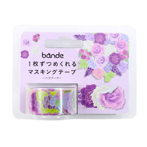 Bande Masking Roll Sticker Masking Tape Rose Bouquet for Scrapbooking DIY (BDA270)