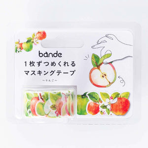 Bande Tape Masking Roll Stickers Apple for Scrapbooking DIY (BDA237)