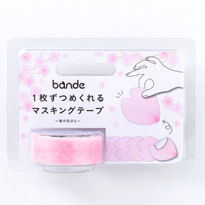 Bande Tape Sakura, Rose Stickers Set and Pilot Highlighter Frixion Light 6 Soft Colors