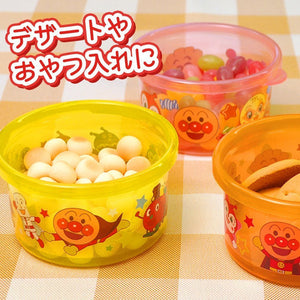LEC Anpanman Baby Picnic Snack Cup and 3 Meal Containers Set