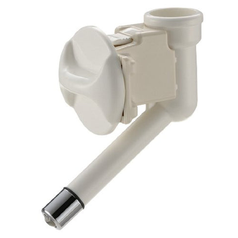 RICHELL Little Pet Water Nozzle Waterer FOR CATS AND DOGS (White)