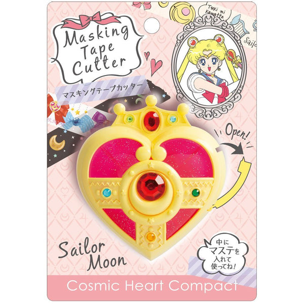 Sailor Moon Masking Tape Cutter Cosmic Heart Compact 25th Anniversary S4833139