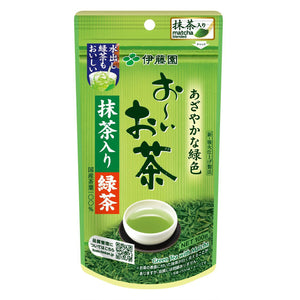 Itoen Oi Green Tea with Matcha - Tea Leaves 100g
