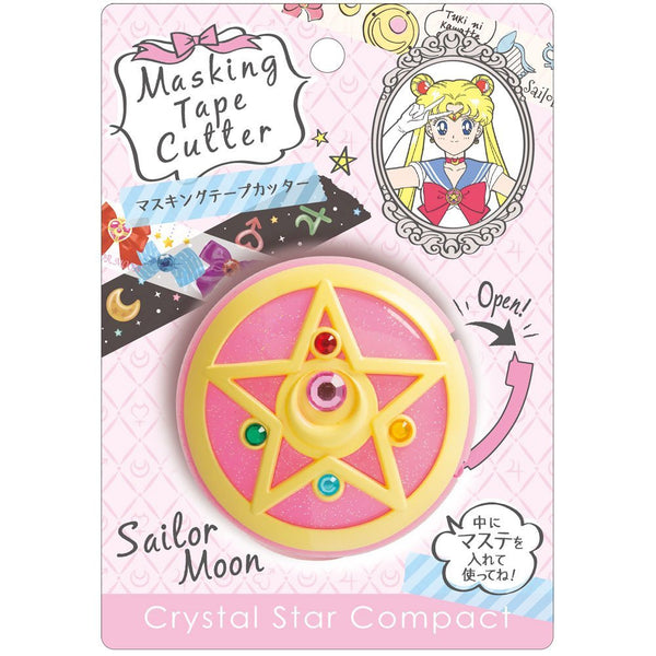 Sailor Moon Masking Tape Cutter Crystal Star Compact 25th Anniversary S4833120