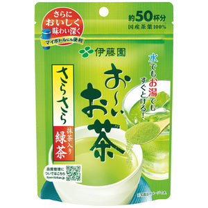 Itoen Oi Instant Green Tea with Matcha Powder 40g (50 Cups)