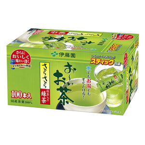 Itoen Oi Green Tea with Matcha Sarasara Instant Powder Pack of 100 Stick