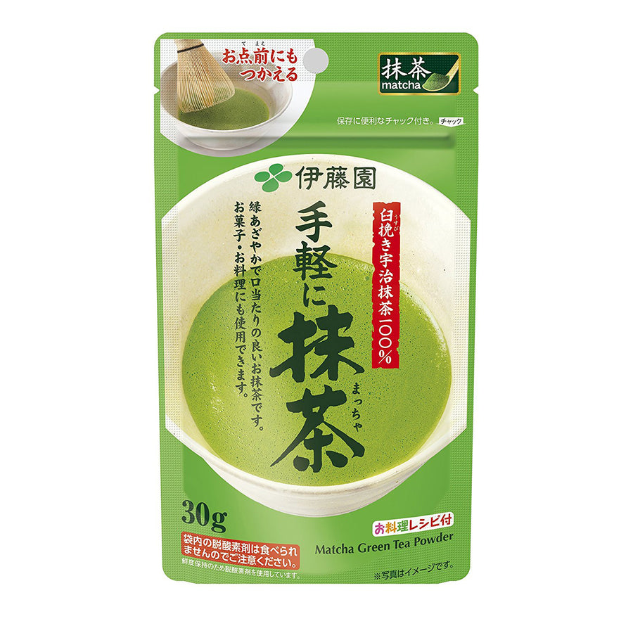 Itoen Matcha Tea Powder 30g (30 Cups)