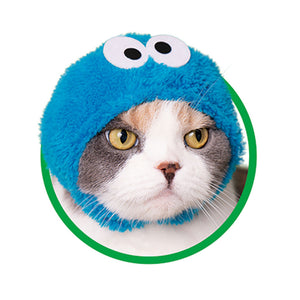 Sesame Street Hat for Cats (Kawaii kawaii Neko Sesame Street)