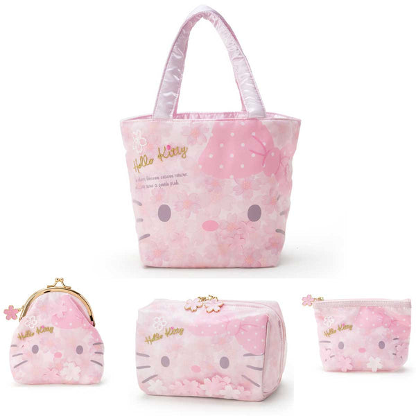Sanrio Japan Original Hello Kitty Sakura Collection (4 pieces)