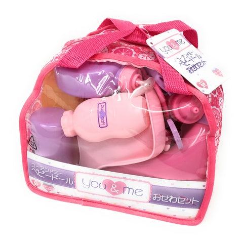 You & Me Baby Doll Care Accessories in Bag 30 pcs