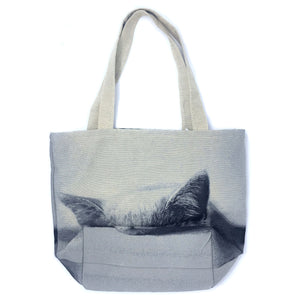 Cat Tote Bag - Sleepy Cat